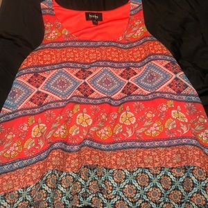 by&by Aztec tank top